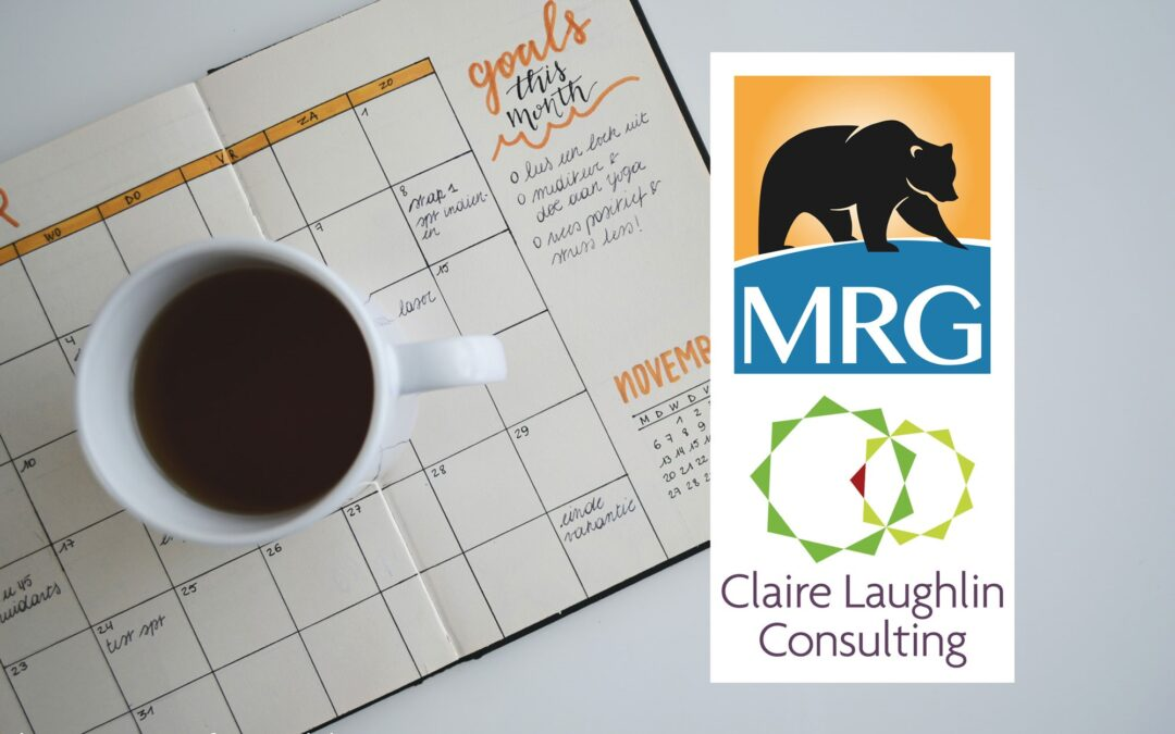 Upcoming Courses Offered by MRG & Claire Laughlin Consulting